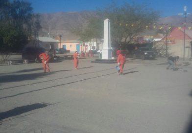 Funcionarios municipales con intensa agenda de trabajos para la festividad de San Lorenzo