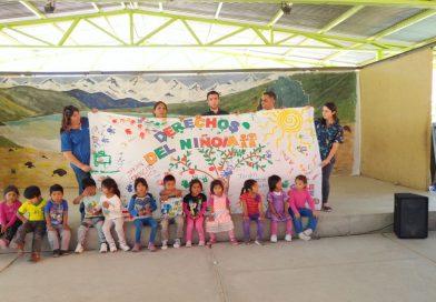 Niñ@s y adolescentes festejaron la declaración de sus derechos
